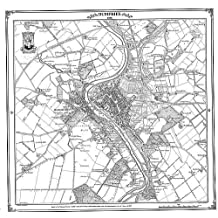 Dumfries 1858 Map (Heritage Cartography Victorian Town Map Series)