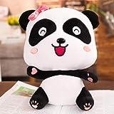 Plush toy _ cute baby couple doll child plush doll-15cm_Baby bus panda female