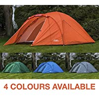 Andes 4 Person Man Berth Double Skin Camping/Festival Dome Tent 17