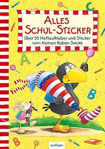 Preisvergleich Produktbild Der kleine Rabe Socke: Alles Schul-Sticker