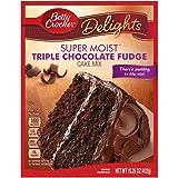 Betty Crocker Super Moist Triple Chocolate Fudge (432g)