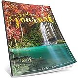 Dékokind® 3 Jahres Journal: Ca. A4-Format, 190+ Seiten, Vintage Softcover • Dicker Jahresplaner, Tagebuchkalender, Buchkalender, Tagesplaner • ArtNr. 25 Garten Eden • Ideal als Geschenk