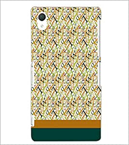 PrintDhaba Typography D-1918 Back Case Cover for SONY XPERIA Z2 (Multi-Coloured)