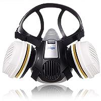 Dräger X-plore 3300 Maler Halbmasken-Set inkl. A2 P3 Kombi-Filter | Größen S/M/L | gegen Gase, Dämpfe, Fein-Staub und…