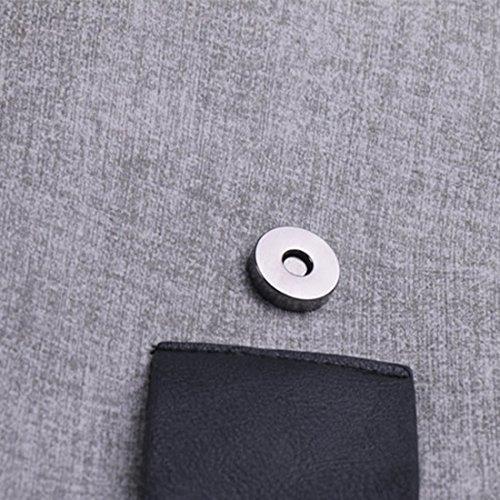 YYW Evening Bag, Poschette giorno donna Light Grey