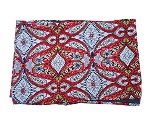 Sciarpa Loop tubo leggero Warmer Donna in diversi colori, Ornamente bunt