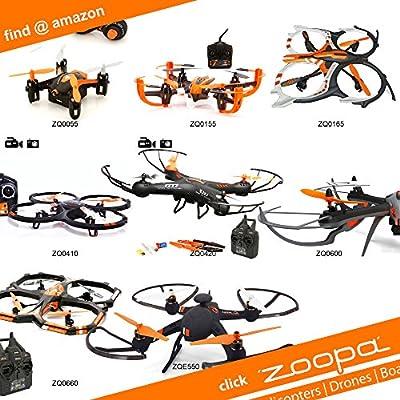 ACME - Ersatzrotorblätter für Quadrokopter zoopa Q 155 (ZQ0155-C)
