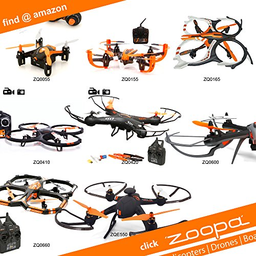 zoopa 150 red heat Helikopter - 7