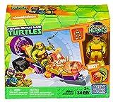 Mega Bloks DMW42 - Figura de Juguete Teenage Mutant Ninja Turtles Half-Shell Heroes Mikey's Jet Cruiser