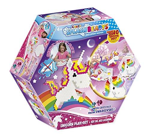 Craze 58467 - Splash Beadys, Unicorn, Playset