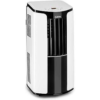 Klarstein New Breeze ECO • Climatiseur Mobile • Refroidisseur d'air • 935W • 10000 BTU/h • 64dB Max • 4 Modes • Oscillation Automatique • 16°C-30°C • Télécommande • Classe énergétique A+ • Blanc