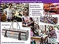 #DoYourYoga Yogatasche »Sharmila exklusivem Segeltuch (Baumwoll-Canvas), aufwendig verarbeitet, für breitere Yogamatten bis zu Einer Größe von 66 x 200 x 0,6 cm, in hübschen Farben