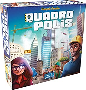 Quadropolis - Board Game - English