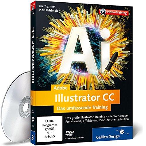 Adobe Illustrator CC - Das umfassende Training - auch gebraucht kaufen  Wird an jeden Ort in Deutschland