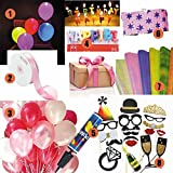 Pick Indiana Birthday Combo Led Balloons...