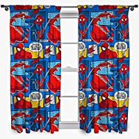 Disney – Juego de Cortinas de Ultimate Spider-Man, de 137cm