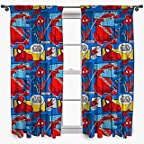 Disney – juego de cortinas de Ultimate Spider-Man, de 137 cm