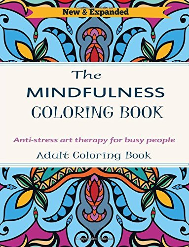 Adult Coloring Book: Anti-Stress Art Therapy For Busy People by Adult Coloring Books (2016-09-08)