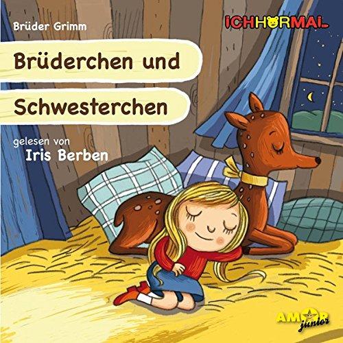 Preisvergleich Produktbild Brüderchen und Schwesterchen gelesen von Iris Berben - ICHHöRMAL: CD mit Musik und Geräuschen, plus 16 S. Ausmalheft