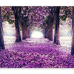 Idea Regalo - murando Carta da parati 250x175 cm Fotomurali in TNT Murale alla moda Decorazione da Muro XXL Poster Gigante Design Carta per pareti fiori alberi c-A-0031-a-c