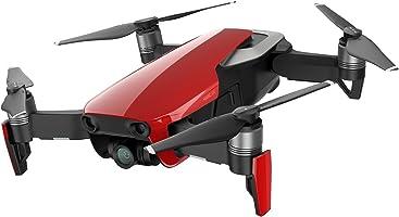 DJI Mavic Air Fly Combo (EU) - Drone Quadricoptère avec caméra / panoramiques sphériques de 32 Mpx / de photos HDR / de vidéos 4K à 30 i/s en 100 Mbit/s et de ralentis 1080p à 120 i/s - Rouge