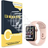UniqueMe [6 Pezzi Pellicola Protettiva Compatibile con Apple Watch Series 6/5/4 44mm, Apple Watch SE 44mm, Apple Watch 42mm (