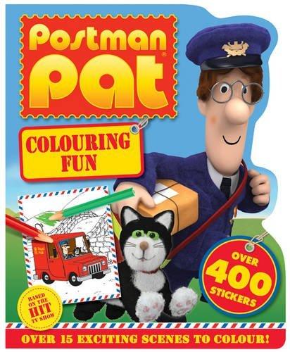 Image of Postman Pat Colouring Fun
