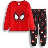 LIJUNQI Spiderman - Pijama de dos piezas para niños de 2 a 7 años, regalo para niños