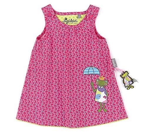 Sigikid Baby-Mädchen Kleid, Rosa (Magenta 692), 92