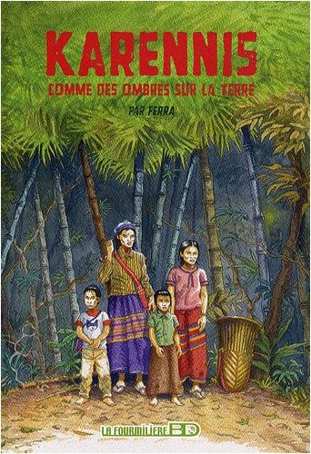Karennis, Tome 1 : Comme des ombres sur la Terre par  Olivier Ferra