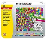 Eberhard Faber 514848 - Buntstift hexagonal 48er Blechetui