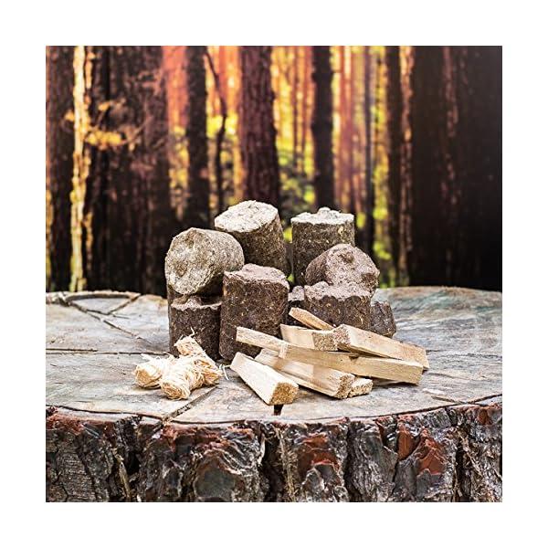 The Frontier Stove Starter Kit Bundle : Log Burning Stove, Spark Arrestor & Bag 4