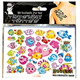 #2: PARTY PROPZ Cartoon Fish Child Temporary Body Art Flash Tattoo Sticker Waterproof / Fake Tatoo