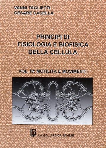 Principi di fisiologia e biofisica della cellula: 4