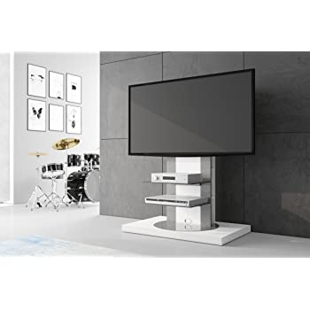 Hu Fernsehtisch Roma H 777nw Schwarz Oder Weiß Hochglanz 360