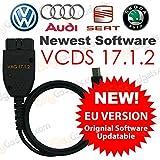 Las últimas VAG COM 16.8.3 VCDS 16.8.3 Cable de diagnóstico para VW AUDI SEAT SKODA