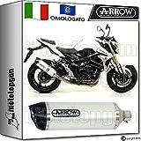 Arrow Auspuff Hom race-tech Aluminium White Carby Suzuki GSR 75020111120121271776AKB