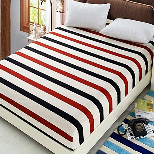 n Staub Proof Weiches Baumwolle Spannbetttuch Floral Bett, voller Schutz-3Größe 3Stil für Wahl, baumwolle, Naked marriage era, 120 * 200cm ()