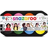 Snazaroo SZ1194040 Assorted Color Face Paint Palette-1 Pc, Multicoloured, Set