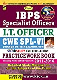 Kiran's IBPS Specialist Officers I.T. Officer CWE SPL – VI Self Study Guide cum Practice Work Book  (with CD) - 1755
