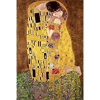 Gustav Klimt PopArtUK–Póster de El beso