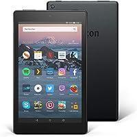 """Tablette Fire HD 8 Reconditionné Certifié, écran HD 8"""" (20,3 cm), 16 Go (Noir) - avec offres spéciales"""
