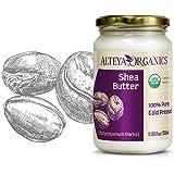 Alteya Organic sheaboter 350 ml - 100% USDA gecertificeerde biologische puur natuurlijke geraffineerde shea boter (Butyrosper