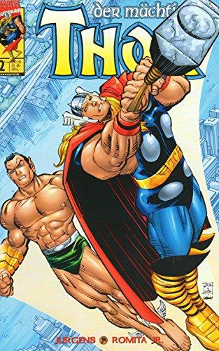 *Verlagsvergriffen* DER MÄCHTIGE THOR Comic # 2 (2000): GOTT UND MENSCH