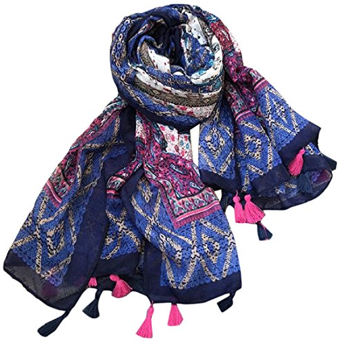 tootlessly-womens-ethnic-style-floral-print-soft-plush-wrap-shawl-os-navy-blue