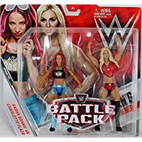 WWE Battle Pack Serie 47 Figura de acción - 'The Queen' Charlotte Flair & 'The Boss' SASHA BANKS