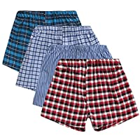 4 KIDZ Boys Boxers Shorts | Cotton Rich Underwear | 4 Pair & 8 Pair Multipack - Ages 7 up to 13 Years 2 Pack 7-8