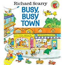Richard Scarry's Busy, Busy Town (Giant Little Golden Book)
