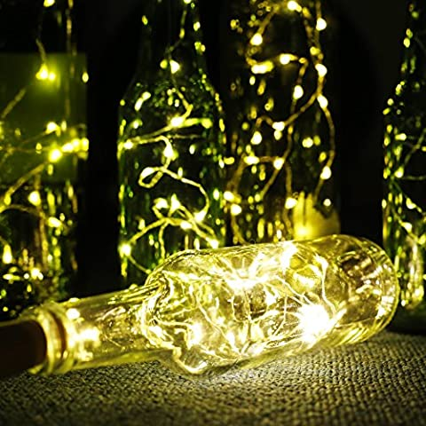 ALED LIGHT Lot de 6 Guirlandes Lumineuses Eclairage de Noël