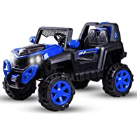 Baybee Dodge Baby Toy Car to Drive, Rechargeable 12V Battery Operated Ride-On Car for Kids Music Lights with R/C Jeep…
